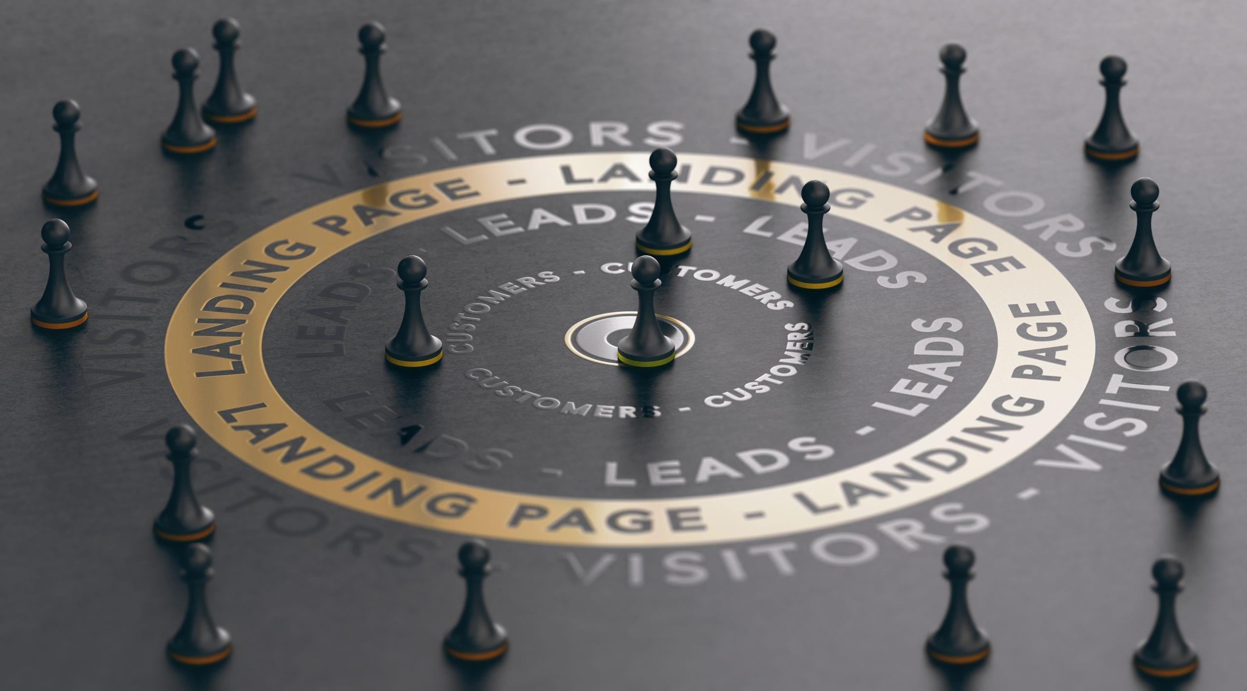 Lead Generation Chess Board